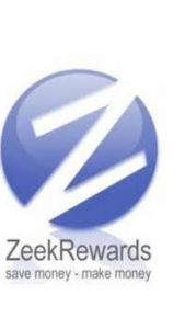 the only thing left from the Zeek Rewards scam, a blue and white logo with the letter z