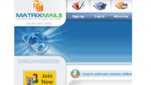 a picture of Matrixmails.com , Make Money Online,Blogging: Received Payment from Matrixmails ...