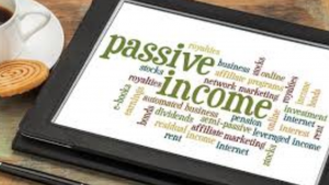 A picture of words that day passive income