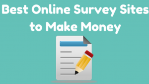 A cartoon picture that reads best online survey sites that make money