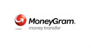 A screen shot of the money gram logo
