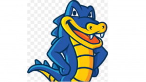a cartoon picture of the hostgator lizard