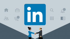A picture of Learning LinkedIn and 2 people shacking hands