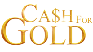 A picture of gold word's that read cash for gold