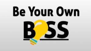 A picture of, be your own boss