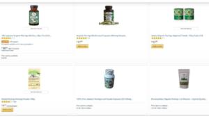 screenshot picture of zija internationals products