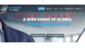 a screenshot picture of a hyip website