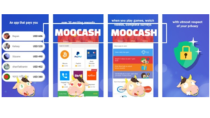 screenshot pictures of MooCash app