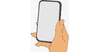 Screenshot picture of a cartoon telephone