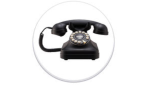 a screenshot picture of an old telephone