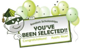 Random scholarship scams, you've been selected certificate