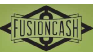 The green and black Fusion Cash website logo
