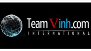 "A screenshot picture of ""Team Vinh International.com"" website"