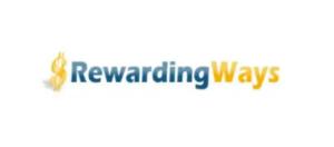 screenshots of the rewardingways website logo